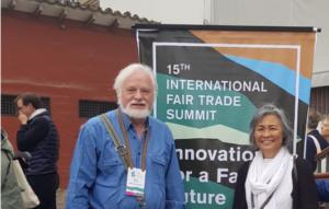 Manfred und seine Frau Myoung-Hee beim WFTO Summit